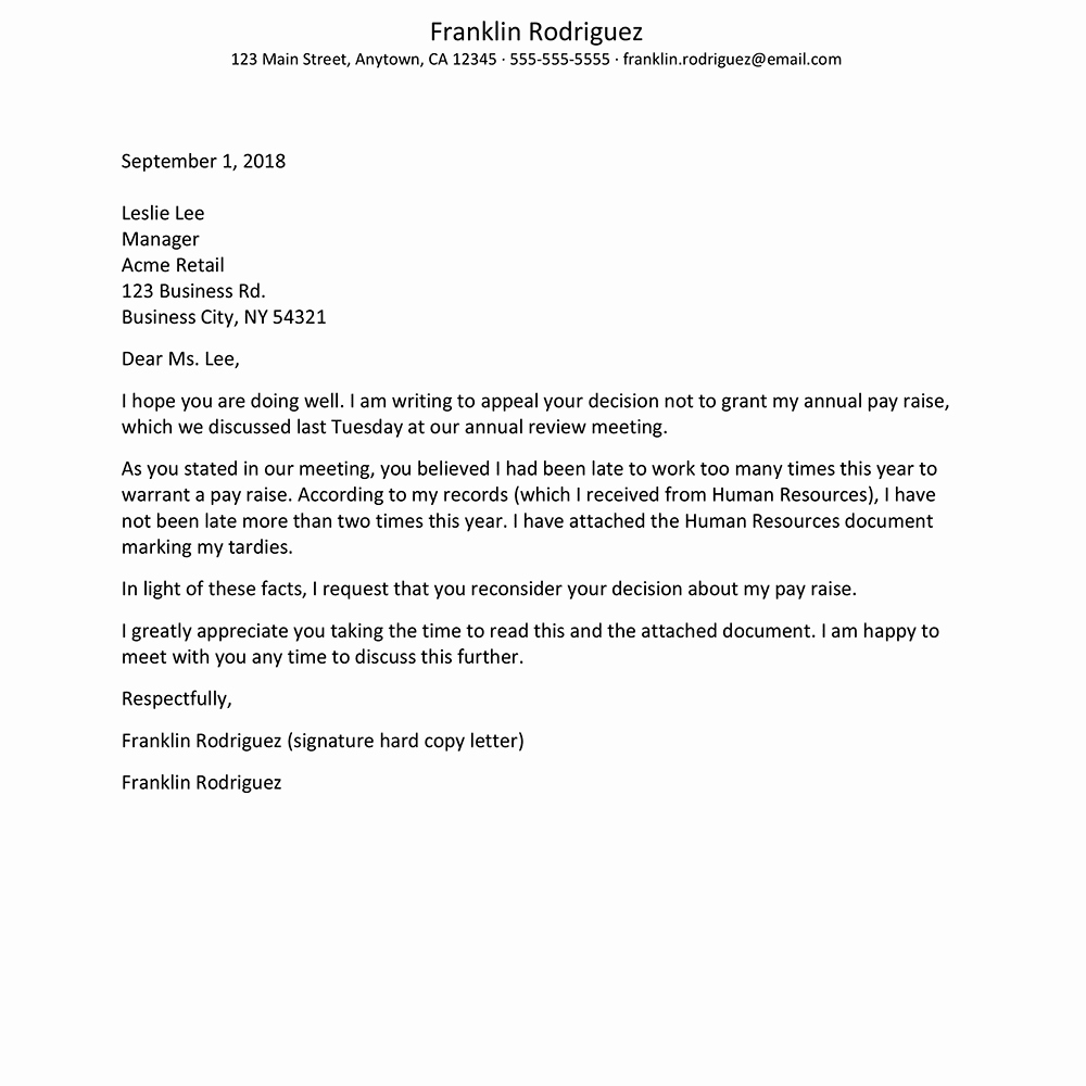 Letter Of Appeal Sample Inspirational How to Write An Appeal Letter