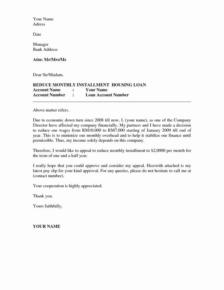 Letter Of Appeal Sample Lovely Business Appeal Letter A Letter Of Appeal Should Be