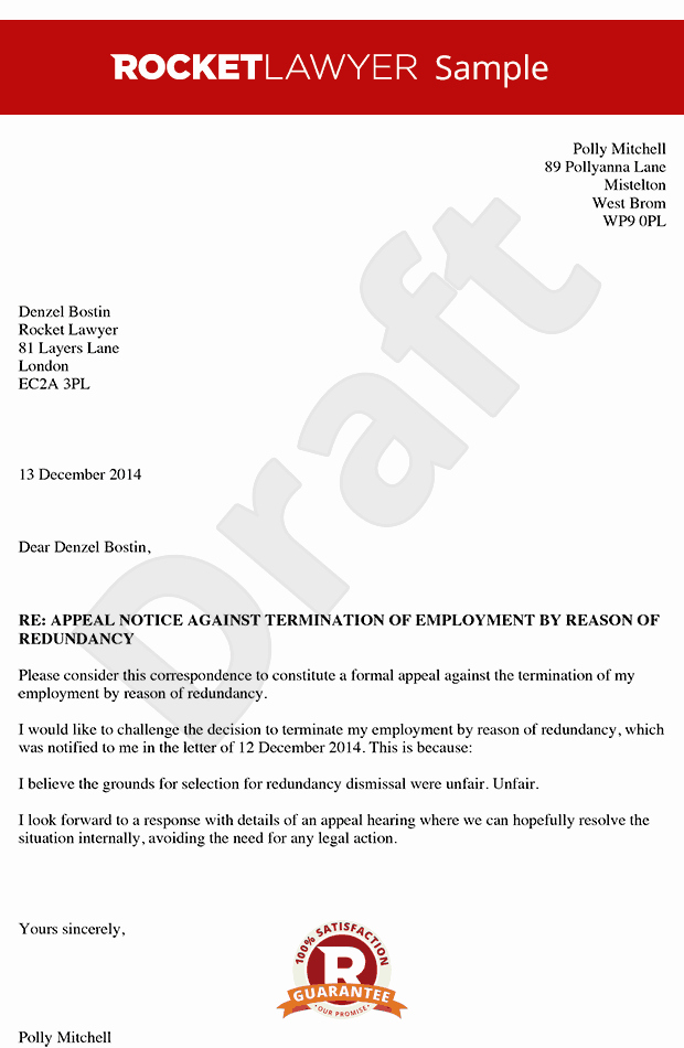Letter Of Appeal Sample Lovely How to Write An Appeal Letter Appeal Letter to An