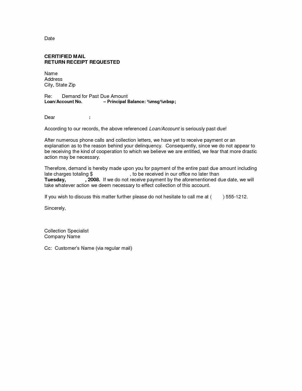 Letter Of Demand Template New How Long after A Demand Letter Does Settlement Take