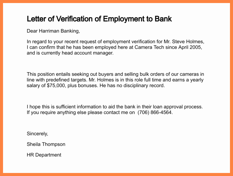 Letter Of Income From Employer Luxury 11 Sample Salary Confirmation Letter From Employer
