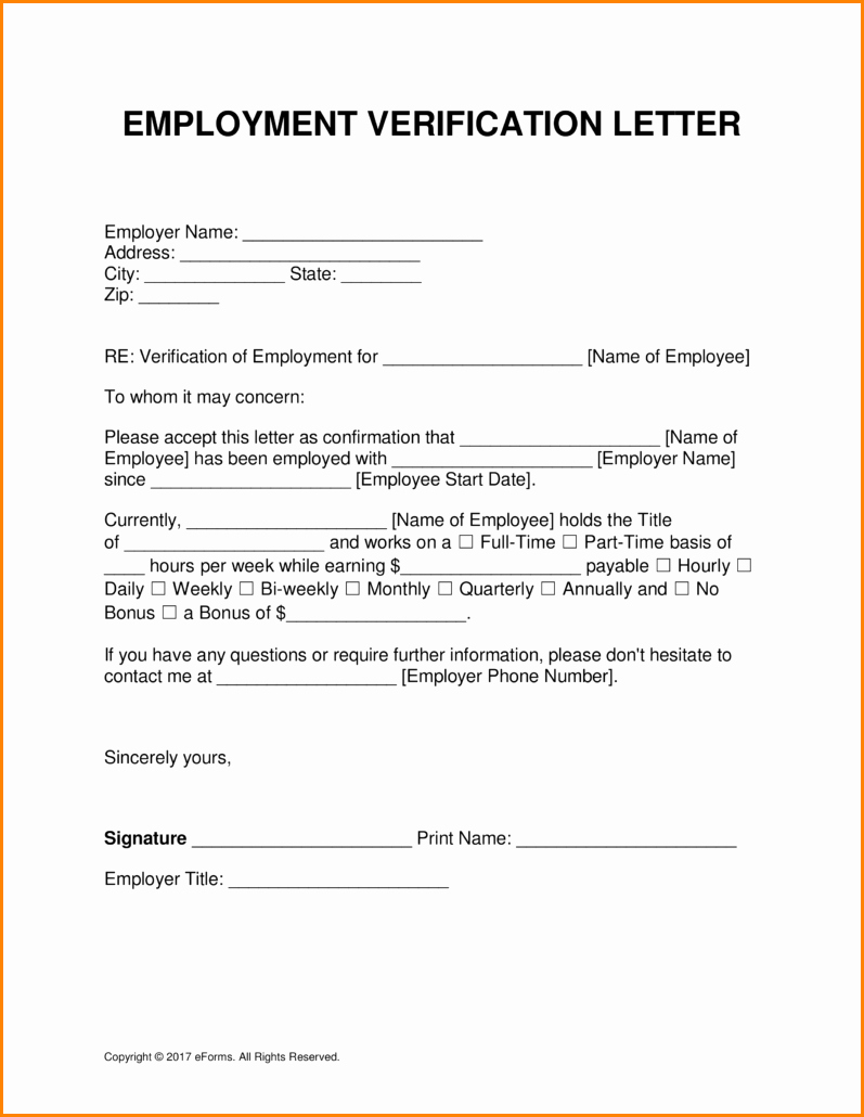Letter Of Income From Employer Luxury 5 Salary Verification Letter From Employer