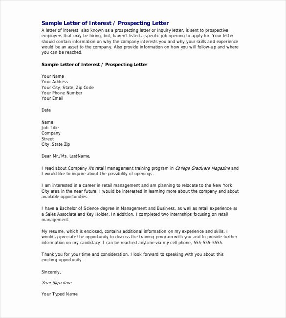 Letter Of Intent Sample Job Awesome 31 Letter Of Intent for A Job Templates Pdf Doc