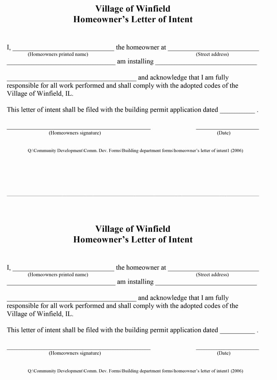 Letter Of Intent Samples Inspirational 40 Letter Of Intent Templates & Samples [for Job School
