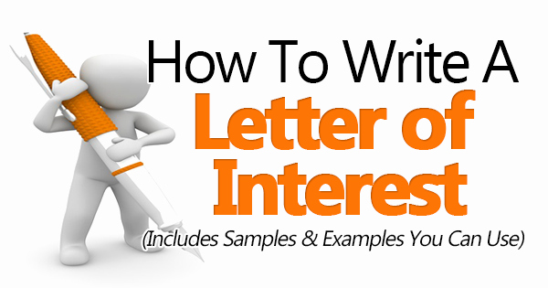 Letter Of Interest for Employment Awesome How to Write A Letter Interest Sample Included