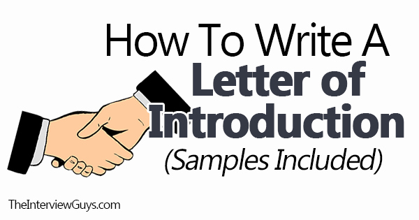 Letter Of Introduction Example Best Of How to Write An Introduction Letter Samples Included