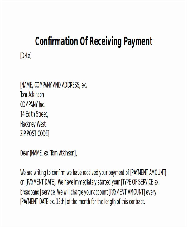 Letter Of Receipt Of Payment Beautiful 10 Receipt Of Payment Letters Pdf Doc Apple Pages