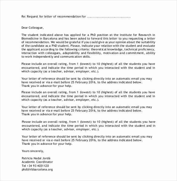 Letter Of Recommendation for Colleague New 23 Friend Re Mendation Letters Pdf Doc
