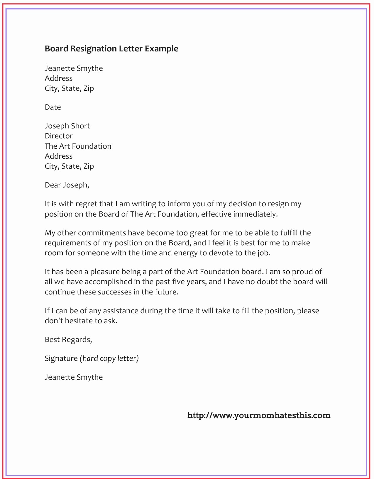 Letter Of Resignation Email Template Lovely Dos and Don'ts for A Resignation Letter