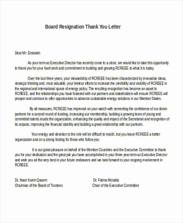 Letter Of Resignation From Committee Inspirational 31 formal Resignation Letters