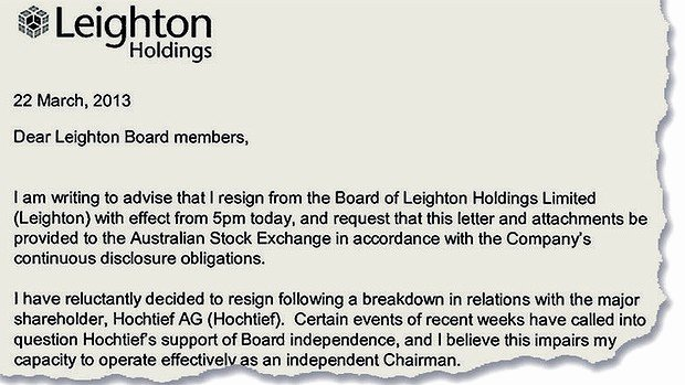 Letter Of Resignation From Committee Lovely Leighton Directors Quit Board