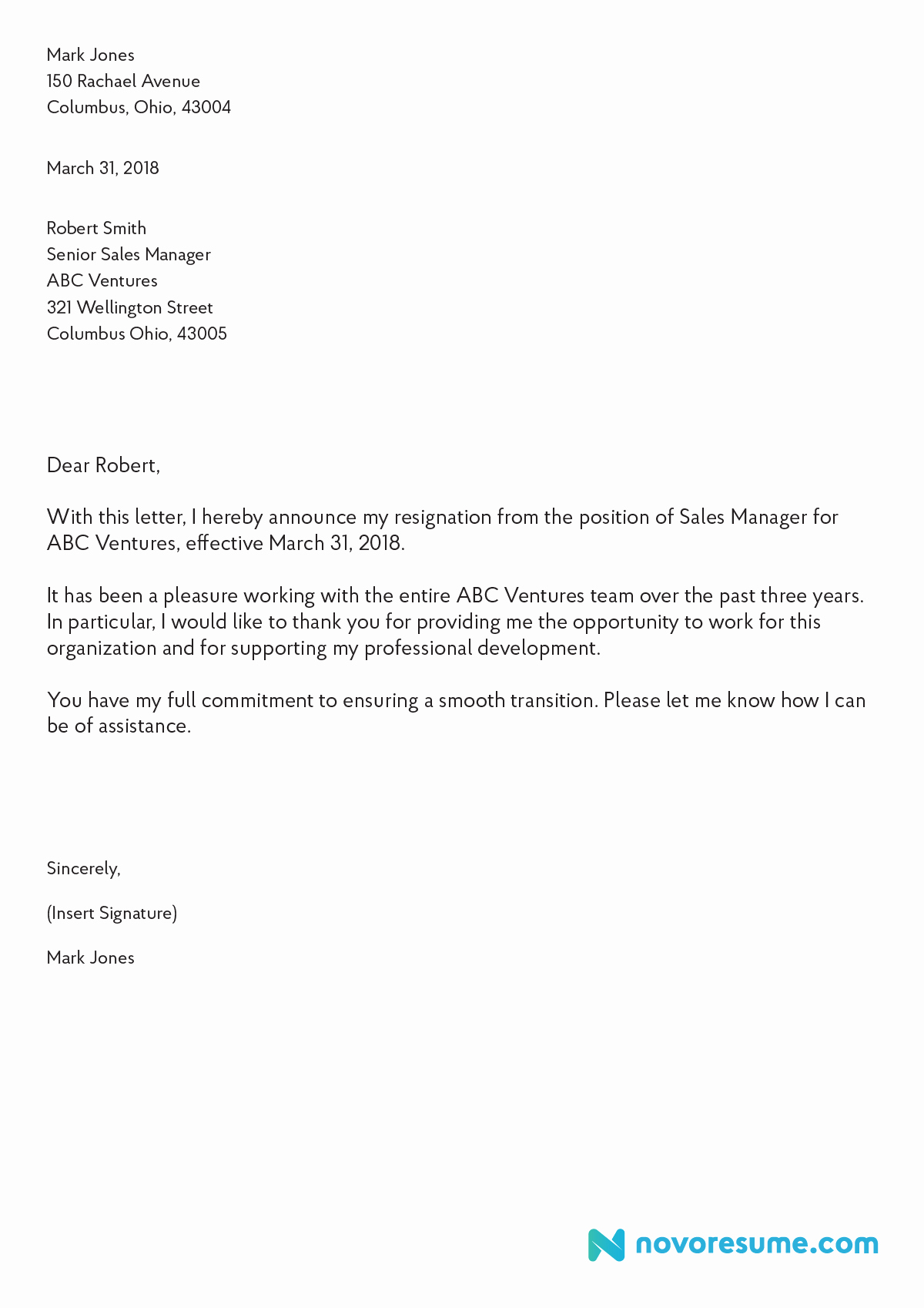 Letter Of Resignation Outline Unique How to Write A Letter Of Resignation – 2019 Extensive Guide