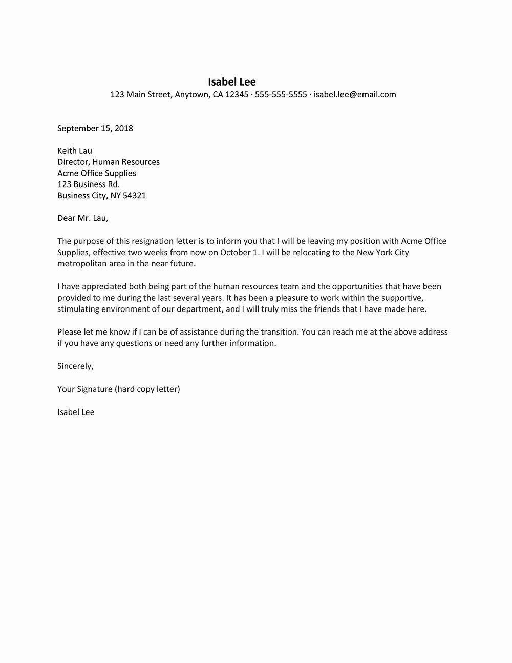 Letter Of Resignation Template Microsoft Awesome Microsoft Word Resignation Letter Template Examples