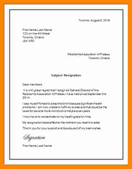 Letter Of Resignation Template Microsoft Elegant 10 Resignation Letter Microsoft Template