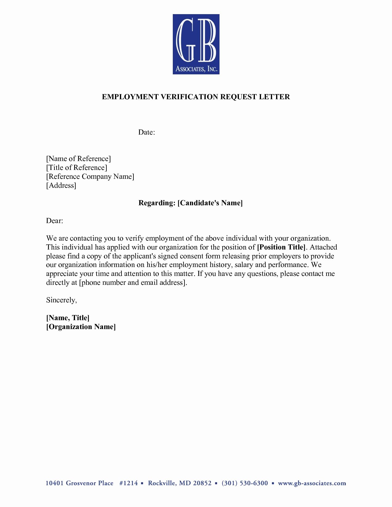 Letter Of Work Verification Lovely 9 Verification Of Employment Letter Examples Pdf
