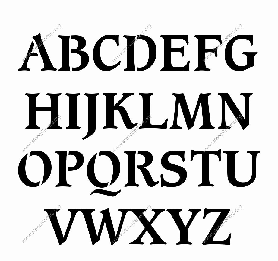 Letter Stencils to Print Free Lovely Stencil Letters Free Printable Stencil Letters Fonts