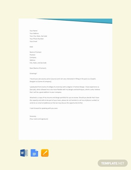 Letter Template Google Docs New 66 Free Cover Letter Templates In Google Docs [download