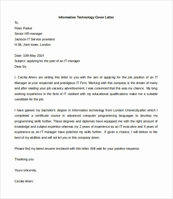 Letter Templates for Word Lovely 55 Cover Letter Templates Pdf Ms Word Apple Pages