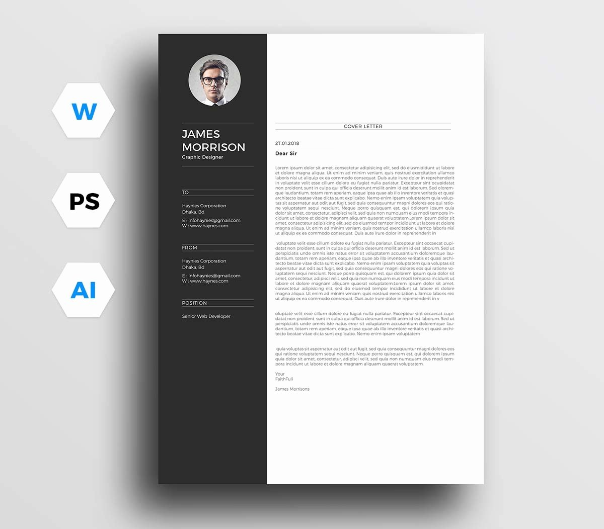 Letter Templates for Word Unique 12 Cover Letter Templates for Word [best Free Downloadable