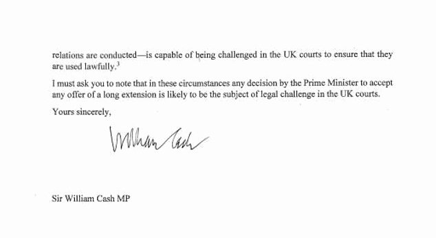 Letter Threatening Legal Action Inspirational Brexiteer Claims It is Illegal for Uk to Stay In the Eu