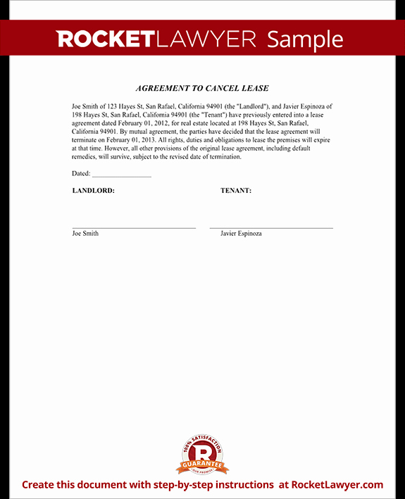 Letter to Cancel Lease Best Of Cancel Lease form Letter to Cancel Lease Agreement Sample