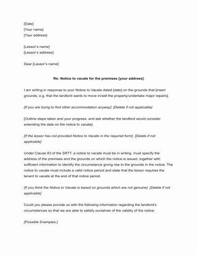 Letter to End Lease Beautiful 9 End Of Lease Letter to Tenant Examples & Templates