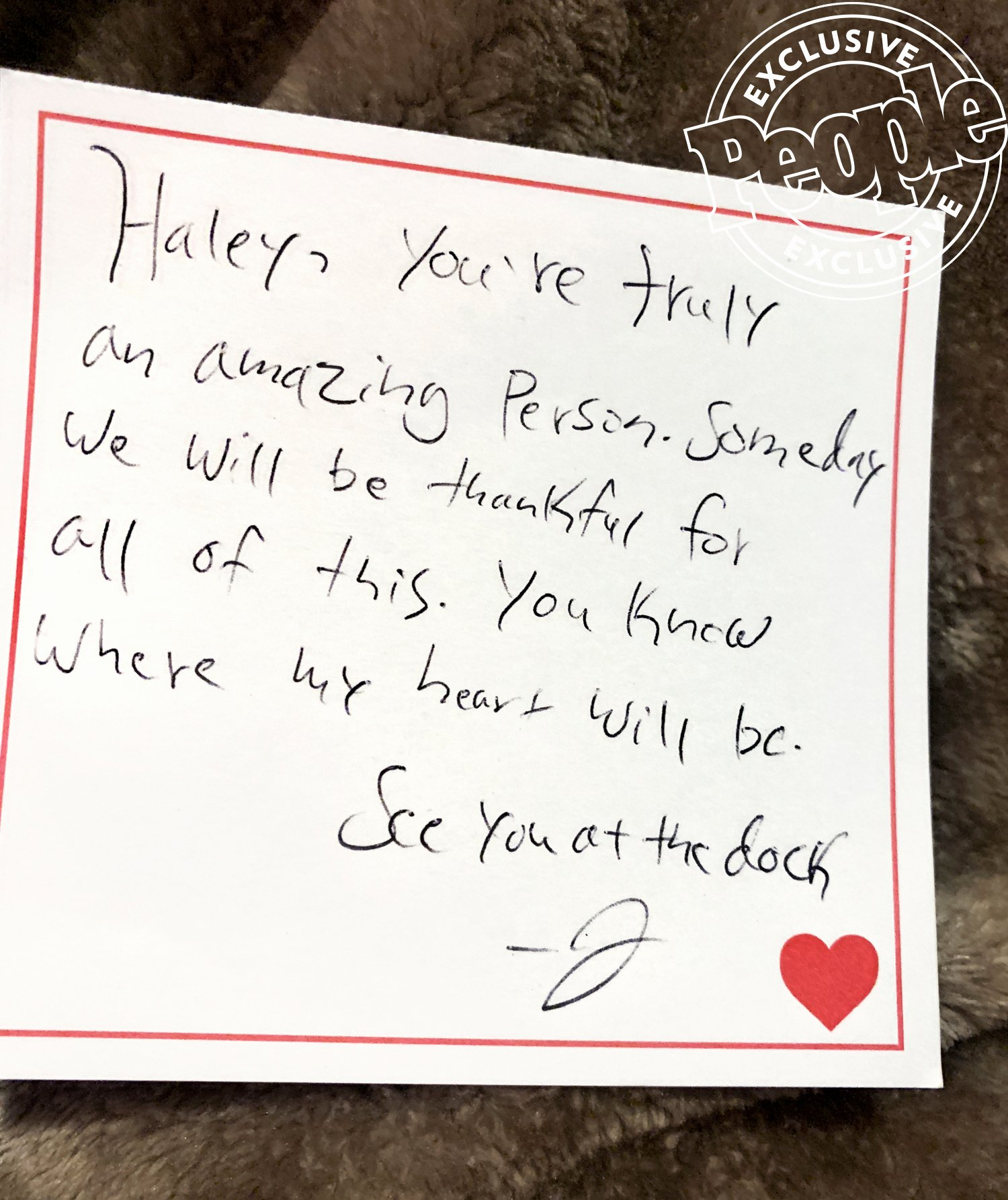 Letter to Get Her Back New the Bachelorette the Alleged Love Letter Jed Wyatt Wrote