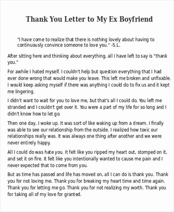 Letter to My Boyfriend Fresh Letter to My Boyfriend
