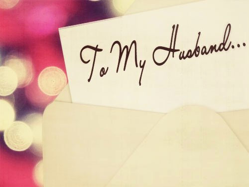 Letter to My Husband Awesome Letter to My Husband Archives Unveiled Wife