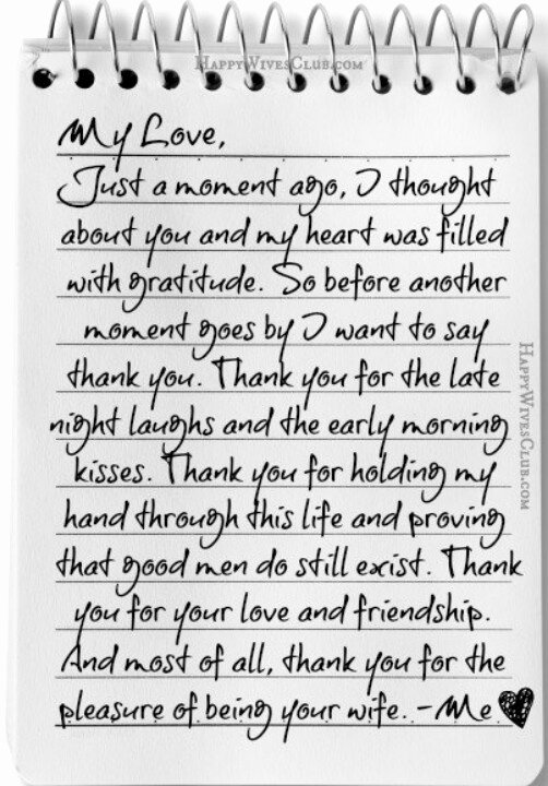 Letter to My Husband Fresh Letter to Husband for Him