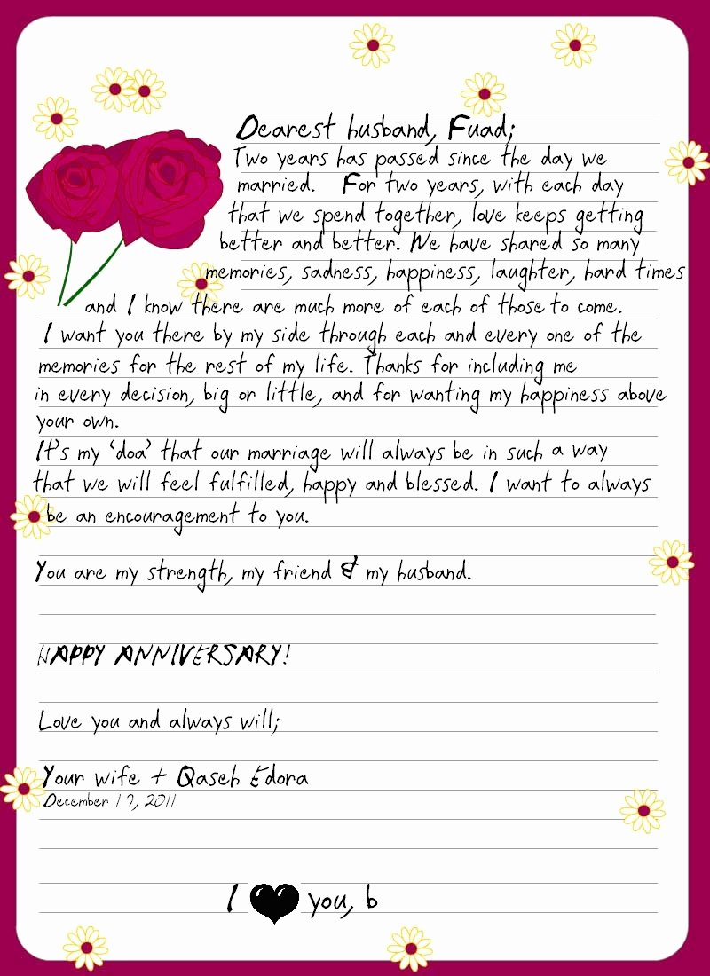 Letter to My Husband Fresh Mom & Wife A Love Letter to My Husband