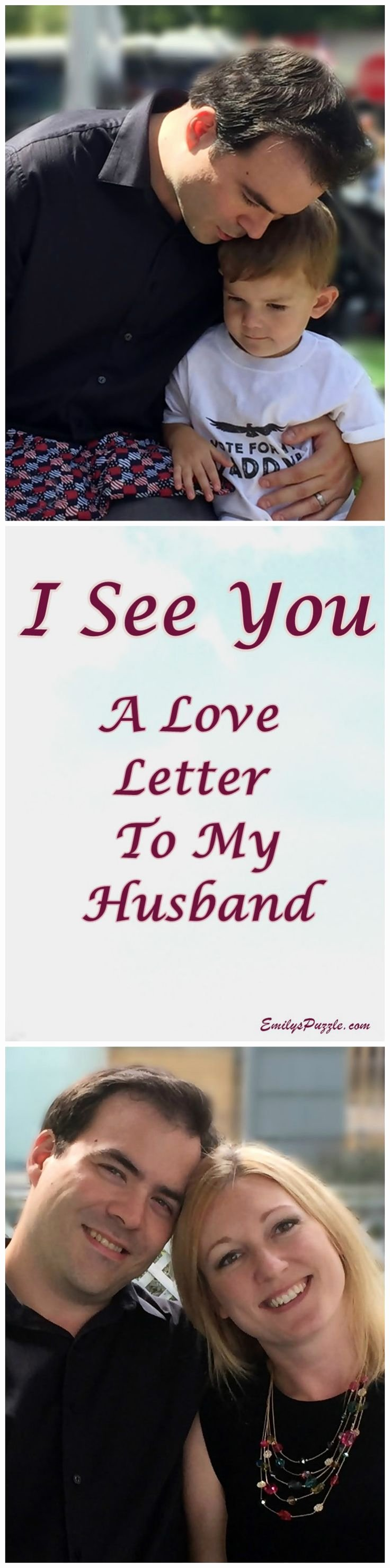 Letter to My Husband Unique I See You A Love Letter to My Husband