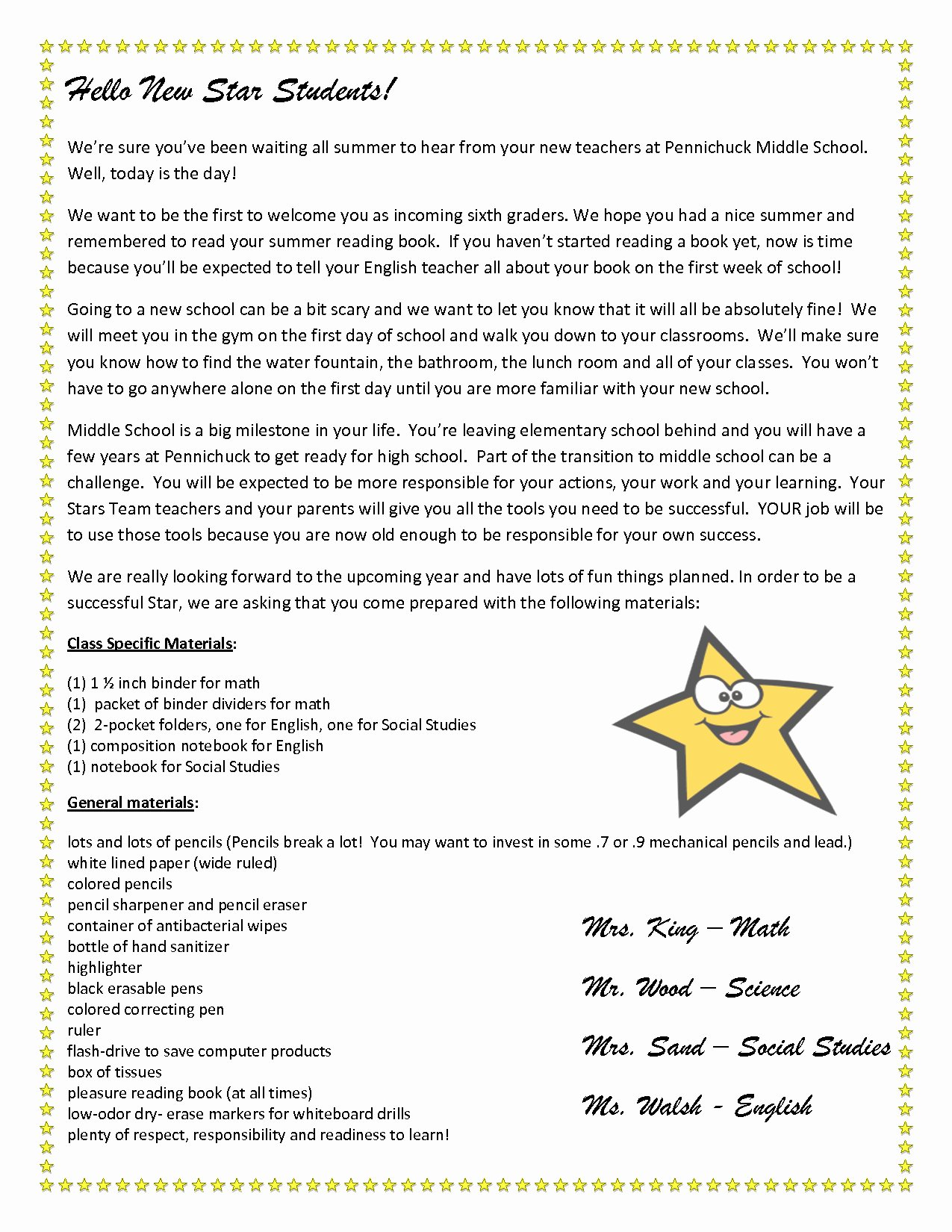 Letter to Parents Template Lovely Teacher Wel E Letter to Parents Template Samples