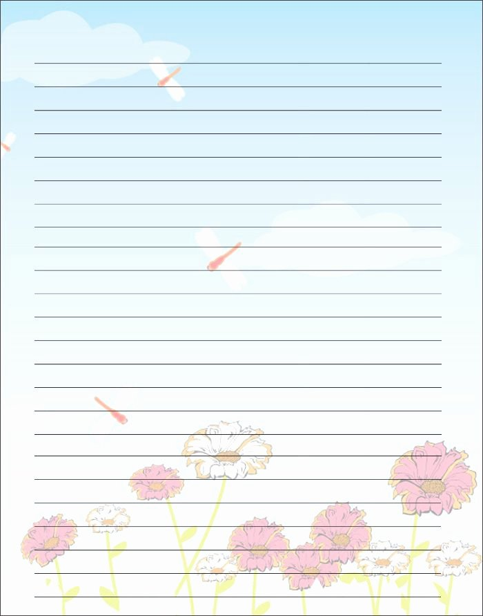 Letter Writing Paper Template Inspirational Free Printable Kids Mother S Day Writing Paper