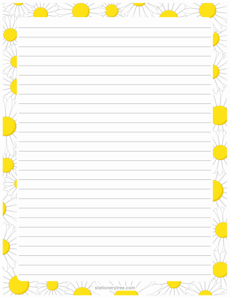 Letter Writing Paper Template Lovely Pin by Muse Printables On Stationery at Stationerytree