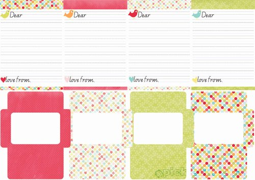 Letter Writing Templates for Kids Best Of September 2011 Archives Picklebums