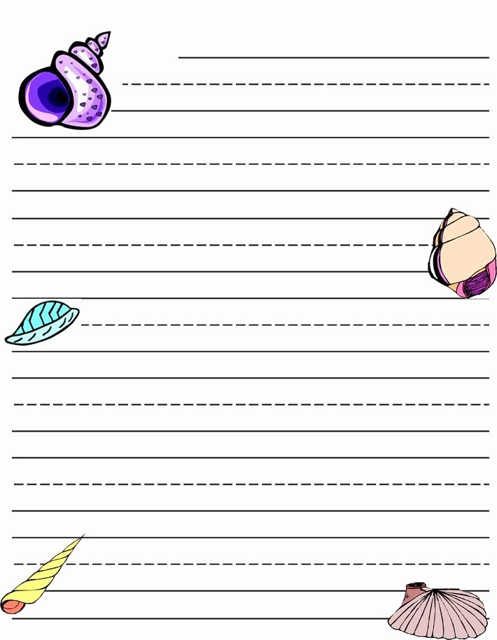 Letter Writing Templates for Kids Best Of Writing Paper Printable for Kids