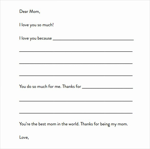 Letter Writing Templates for Kids Elegant 8 Letter format for Kids Samples Examples & format