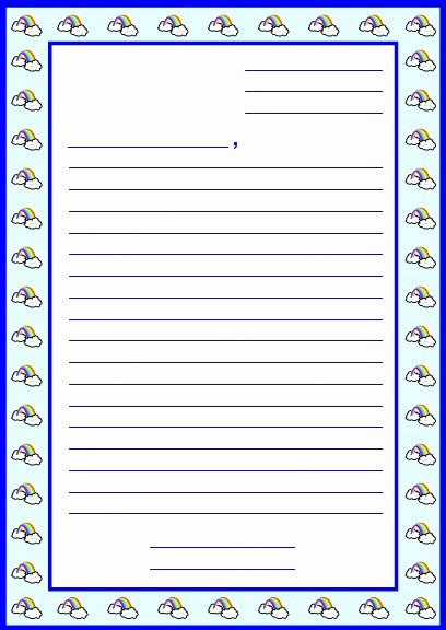 Letter Writing Templates for Kids Inspirational Character Body Book Report Project Templates Worksheets