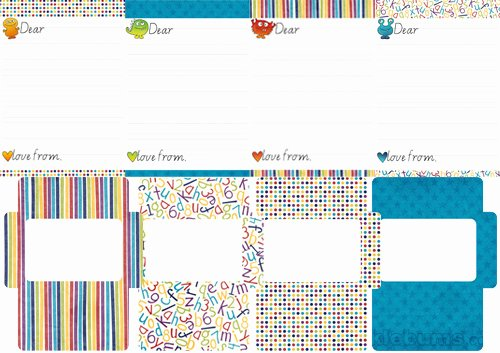 Letter Writing Templates for Kids Lovely Printable Kid S Letter Writing Set 2 Picklebums