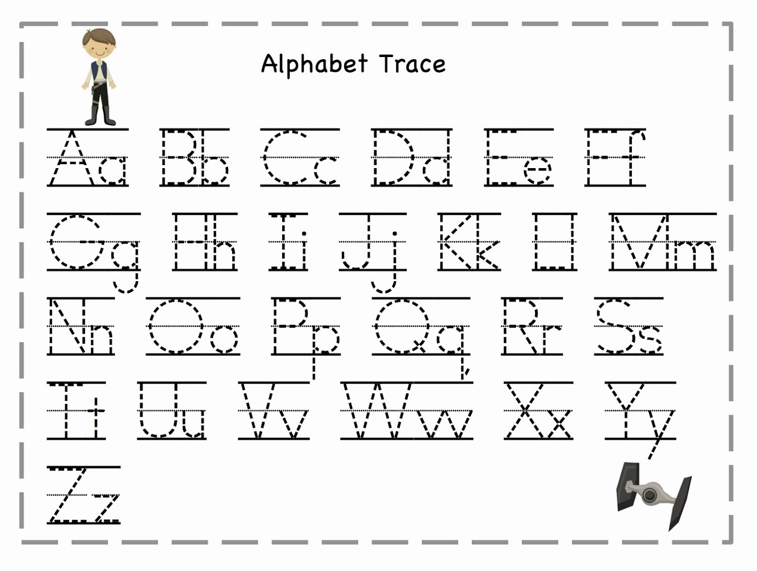 Letter Writing Templates for Kids Luxury Tracing Letters for Kids Activities