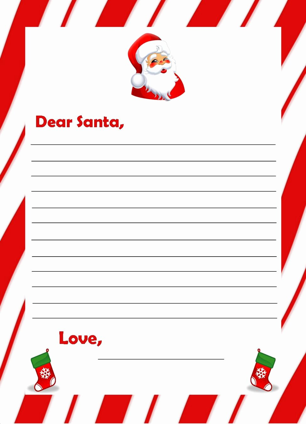 Letter Writing Templates for Kids New Vienna Children Send Santa Your Wish List by Nov 21