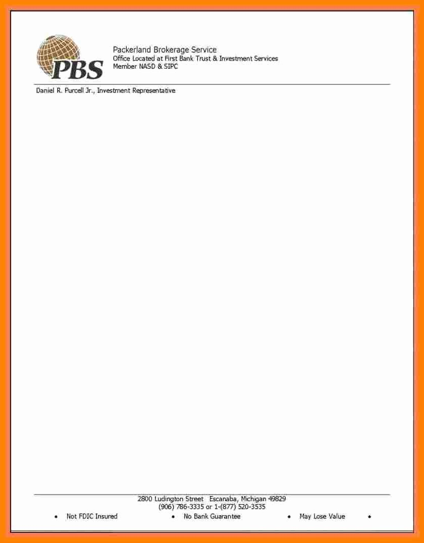 Letterhead Design In Word Awesome 10 Letterhead Templates Word 2010