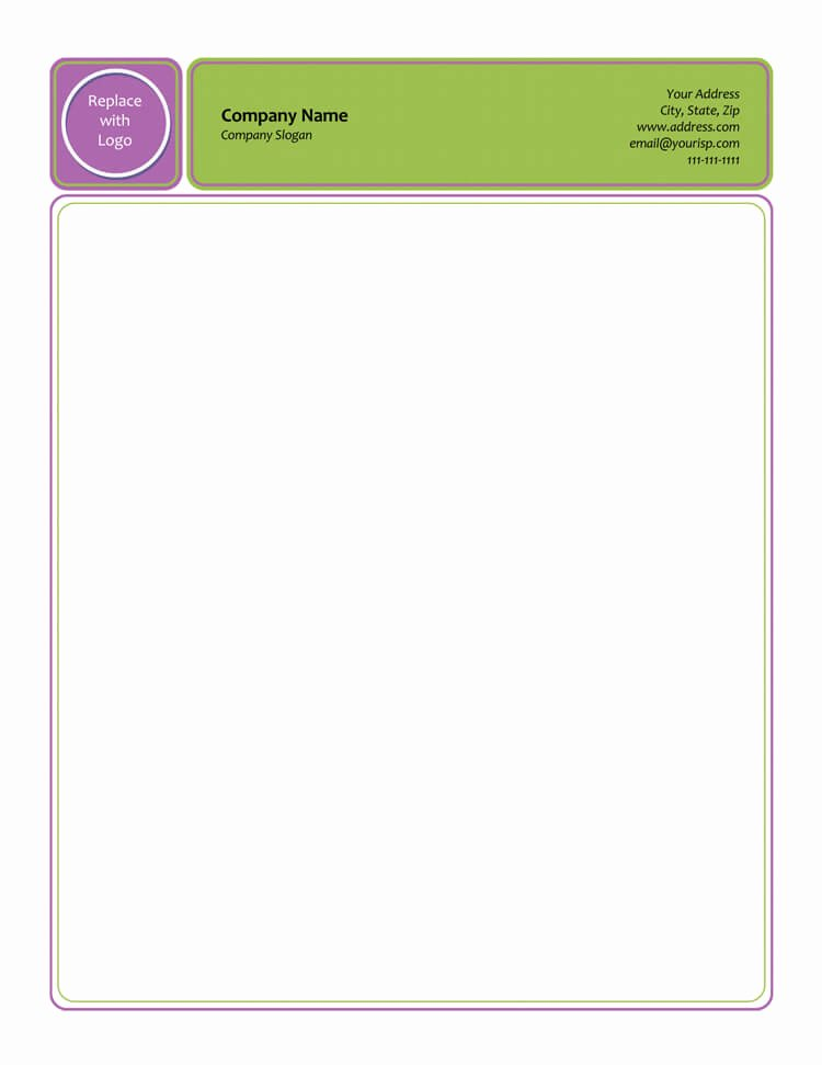 Letterhead Design In Word Fresh 50 Free Letterhead Templates for Word Elegant Designs