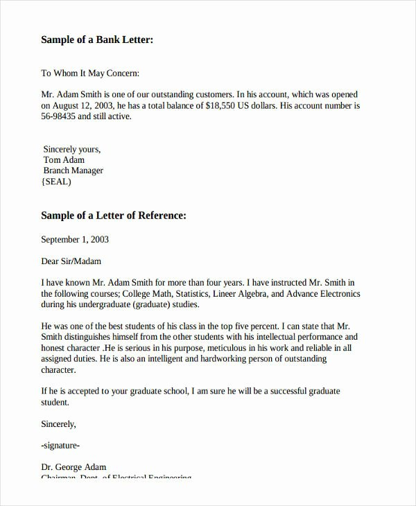 Letters Of Reference for Employees New 10 Employee Re Mendation Letter Template 10 Free