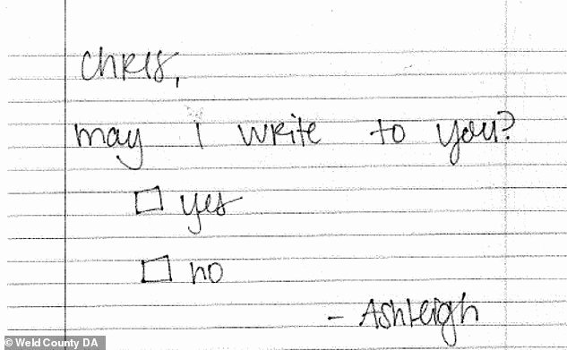 Letters to Him In Jail Fresh Dozens Of Prison Letters Sent to Chris Watts In which