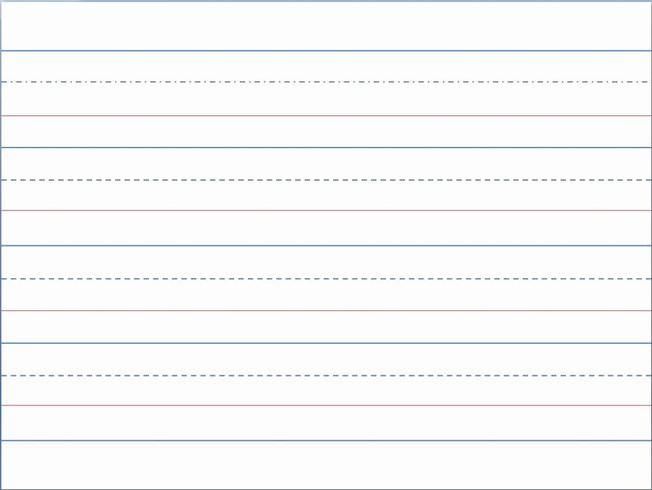 Line Paper for Kindergarten Fresh Printable First Grade Writing Paper