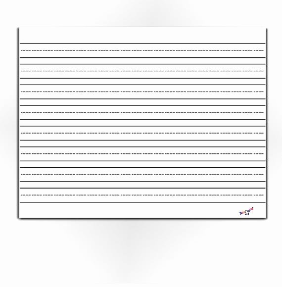 Line Paper for Kindergarten Unique Lined Paper for Kids Blank Lined Paper Preschool