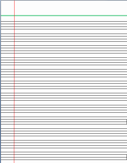 Lined Letter Writing Paper Inspirational Writing Paper Template Word Templates