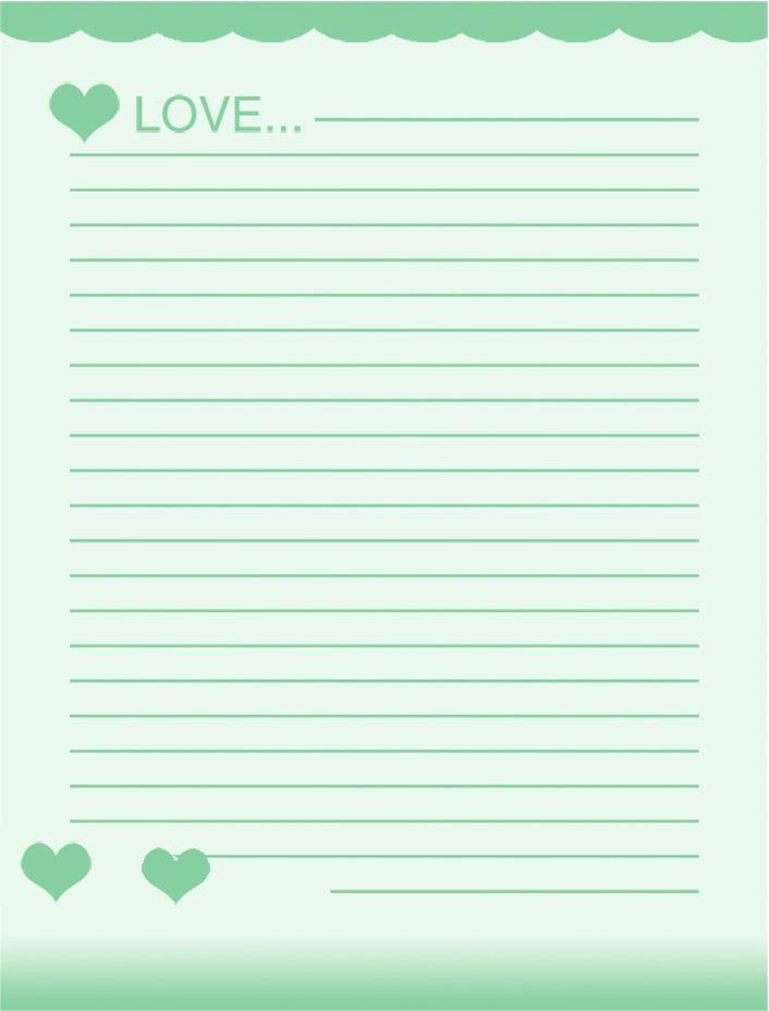 Lined Letter Writing Paper Lovely Lined Stationery Paper Printable Free Download Aashe